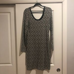 Leopard black and white dress!